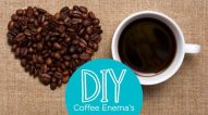 DIY coffee Enema